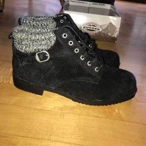 New Women's Rugged Outback Suede Boots